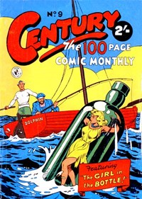 Century the 100 Page Comic Monthly (Colour Comics, 1956 series) #9 ([February 1957?])