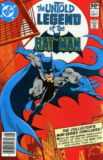 The Untold Legend of the Batman (DC, 1980 series) #3 (September 1980)