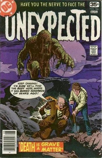 The Unexpected (DC, 1968 series) #186 (July-August 1978)