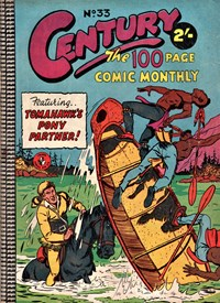 Century the 100 Page Comic Monthly (Colour Comics, 1956 series) #33 — Tomahawk's Pony Partner!