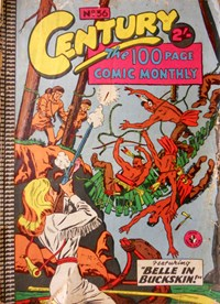 Century the 100 Page Comic Monthly (Colour Comics, 1956 series) #36 (May 1959)