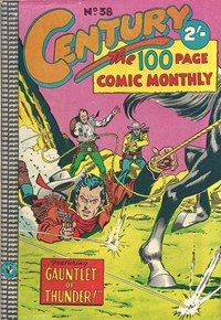 Century the 100 Page Comic Monthly (Colour Comics, 1956 series) #38 — Gauntlet of Thunder