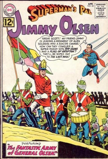 The Fantastic Army of General Olsen!