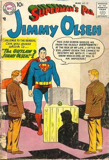 The Outlaw Jimmy Olsen!