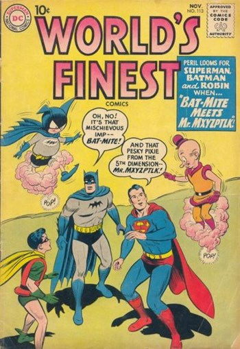 World's Finest Comics (DC, 1941 series) #113 (November 1960)