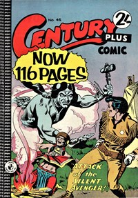 Century Plus Comic (Color Comics, 1960 series) #45 — Attack of the Silent Avenger