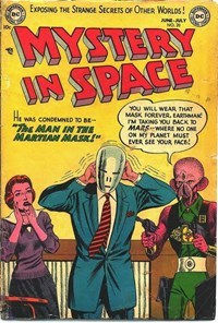 Mystery in Space (DC, 1951 series) #20 (June-July 1954)