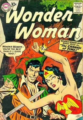 Wonder Woman (DC, 1942 series) #94 (November 1957)