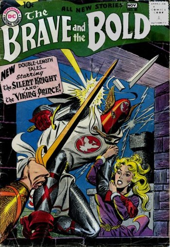 The Brave and the Bold (DC, 1955 series) #20 (October-November 1958)