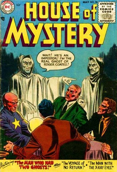 House of Mystery (DC, 1951 series) #38 (May 1955)