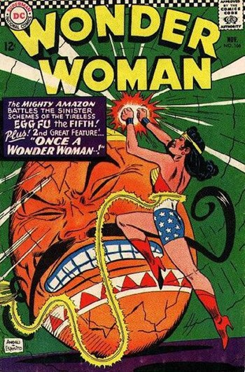 Wonder Woman (DC, 1942 series) #166 (November 1966)