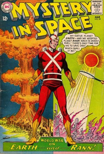 Mystery in Space (DC, 1951 series) #82 (March 1963)