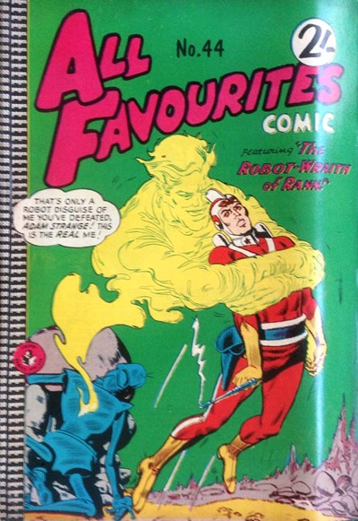All Favourites Comic (Colour Comics, 1960 series) #44 ([September 1964?])