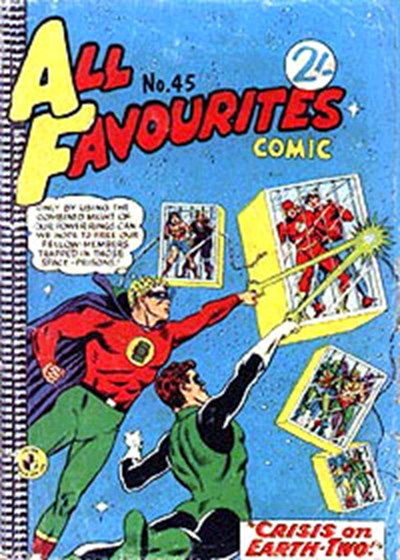 All Favourites Comic (Colour Comics, 1960 series) #45 ([November 1964?])