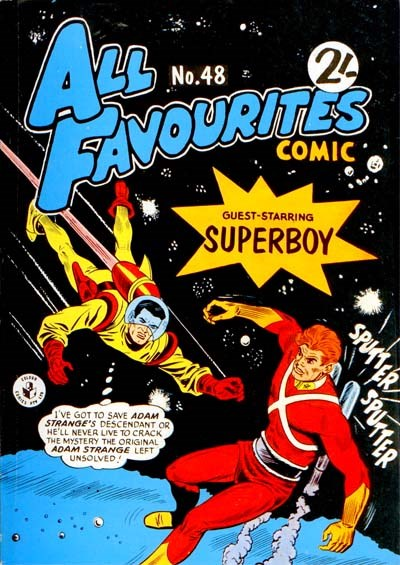 All Favourites Comic (Colour Comics, 1960 series) #48 ([May 1965?])