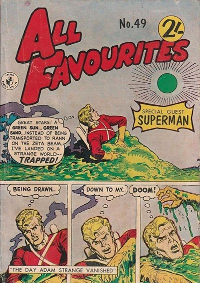 All Favourites Comic (Colour Comics, 1960 series) #49 ([July 1965])