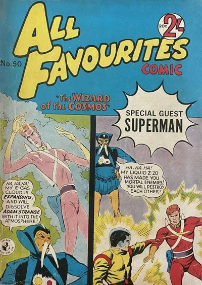 All Favourites Comic (Colour Comics, 1960 series) #50 ([September 1965?])