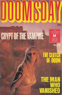 Doomsday (KG Murray, 1973 series) #16 — Crypt of the Vampire