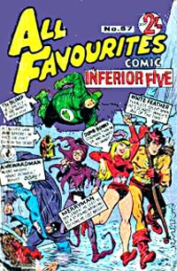 All Favourites Comic (Colour Comics, 1960 series) #57 — Untitled