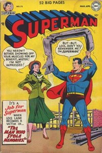 Superman (DC, 1939 series) #75 (March-April 1952)