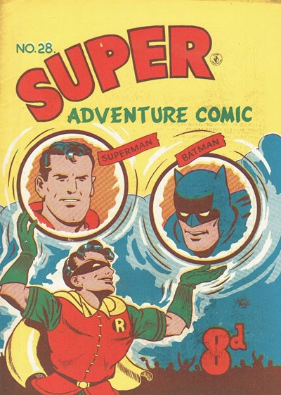 Super Adventure Comic (Colour Comics, 1950 series) #28 ([October 1952])