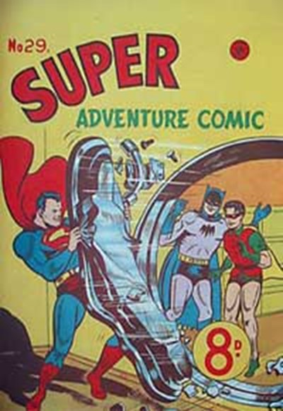Super Adventure Comic (Colour Comics, 1950 series) #29 ([November 1952?])