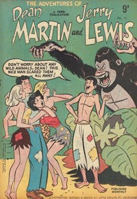 The Adventures of Dean Martin and Jerry Lewis (Frew, 1956 series) #11 ([1956?])