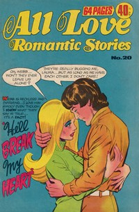 All Love Romantic Stories (KG Murray, 1974? series) #20 ([February 1977?])