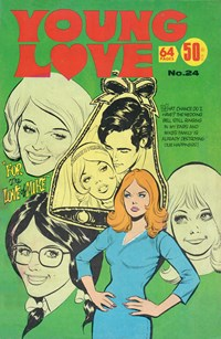Young Love (KG Murray, 1975 series) #24 — For the Love of Mike