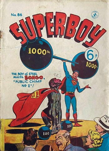 Superboy (Colour Comics, 1950 series) #86 (April 1956)