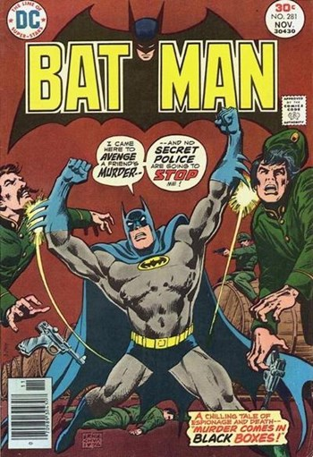 Batman (DC, 1940 series) #281 (November 1976)