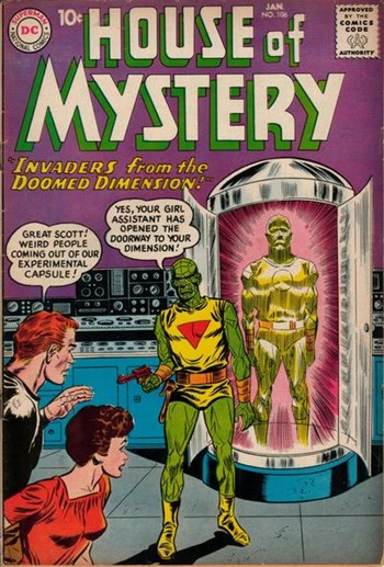 House of Mystery (DC, 1951 series) #106 (January 1961)