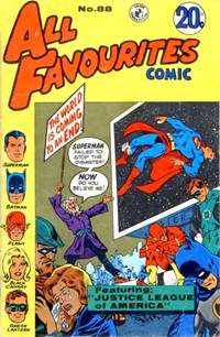 All Favourites Comic (Colour Comics, 1960 series) #88