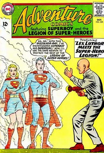 Lex Luthor Meets the Super-Hero Legion!