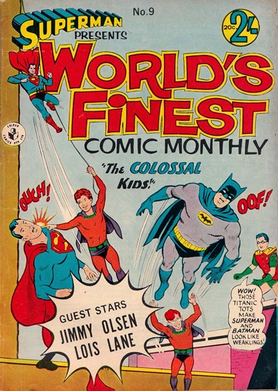 Superman Presents World's Finest Comic Monthly (Colour Comics, 1965 series) #9 (January 1966)