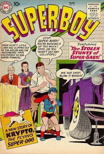 The Stolen Stunts of Super-Baby!