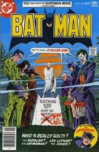 "Batman (DC, 1940 series) #291 — ""And To Think...I Killed Him!"""