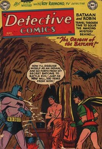 Detective Comics (DC, 1937 series) #205 — The Origin of the Bat-Cave