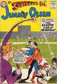 Superman's Pal, Jimmy Olsen (DC, 1954 series) #37 — The Elastic Lad of Metropolis!