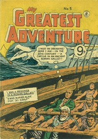 My Greatest Adventure (Colour Comics, 1955 series) #5 ([August 1955?])