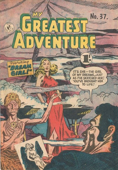 My Greatest Adventure (Colour Comics, 1955 series) #37 ([April 1958?])