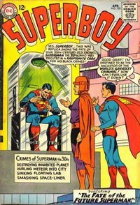Superboy (DC, 1949 series) #120 — The Fate of the Future Superman