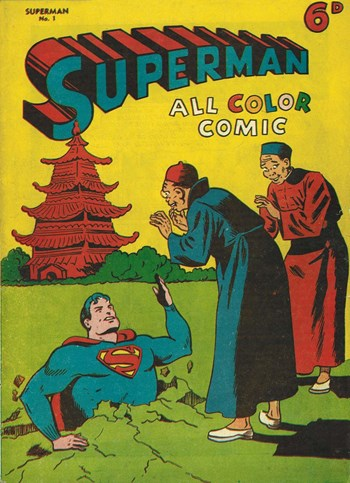 Superman All Color Comic