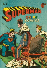 Superman Color Comics (KGM, 1947 series) #2 — Untitled
