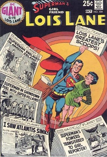 Superman's Girl Friend, Lois Lane (DC, 1958 series) #104 (October 1970)