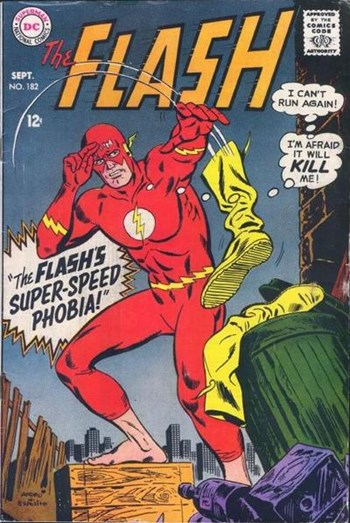 The Flash (DC, 1959 series) #182 (September 1968)