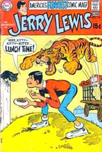The Adventures of Jerry Lewis (DC, 1957 series) #118 (May-June 1970)