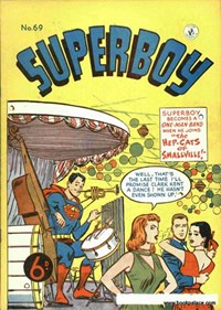 Superboy (Colour Comics, 1950 series) #69 — The Hep-Cats of Smallville