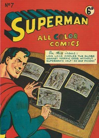 Superman All Color Comics (KGM, 1947 series) #7 — Untitled