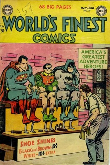 World's Finest Comics (DC, 1941 series) #70 (May-June 1954)